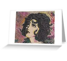 lonely Medusa Greeting Card