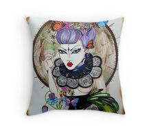 Lost in thought  Throw Pillow