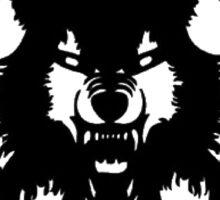 Hollow Squad wulf logo Sticker