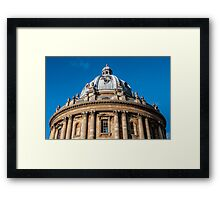 Radcliffe Camera Oxford England Framed Print