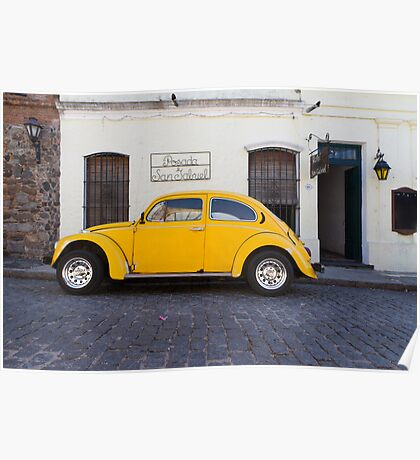 punch buggy yellow Poster