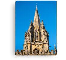 St Mary's Church Oxford England Canvas Print