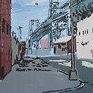 North 5th street  by Caroline  Hajjar Duggan