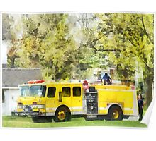 Back at the Firehouse Poster
