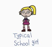 Typical school girl by Teresa Hulbert