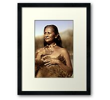 Wisdom and Grace Framed Print