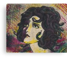 Lonely Medusa 3 Canvas Print