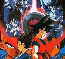 Dragon Ball Z - All Saiyans (TW) by frc qt