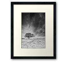 Snow Business Framed Print