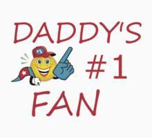 Dad's #1 Fan Kids Tee