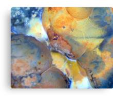 Sleep My Child (Quartz Geode) Canvas Print