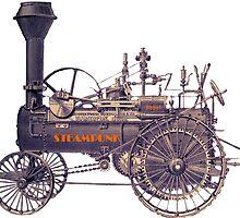 Steampunk Rebel by Tickleart