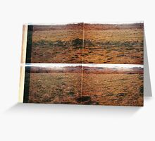 In The Gold Dust Rush Greeting Card