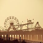 Steel Pier Sunrise by Bethany Helzer
