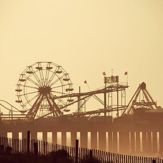 Steel Pier Sunrise by Bethany Helzer