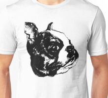 """Garbo"" Boston Terrier Graphic ~ black and white Unisex T-Shirt"