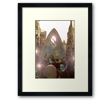 Prince of Flares Framed Print