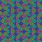 Mid-Century Quilt #2  by Cody  VanDyke