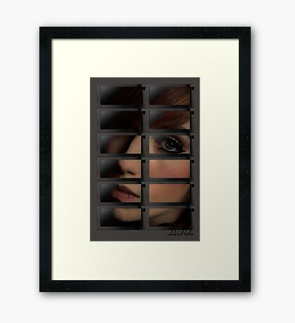 Microwave Goddess Framed Print