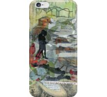 Birds on a Beach with Lovers, Eggs, and Flowers iPhone Case/Skin