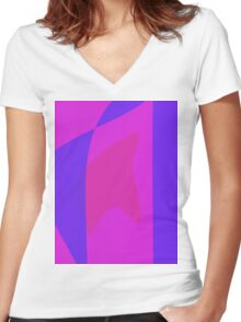 Cold Country Women's Fitted V-Neck T-Shirt