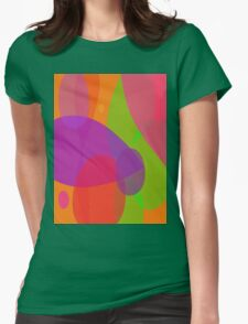 Flowers and Insects Womens Fitted T-Shirt