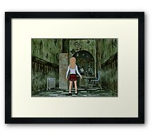 The First Day at Fairview High School Framed Print