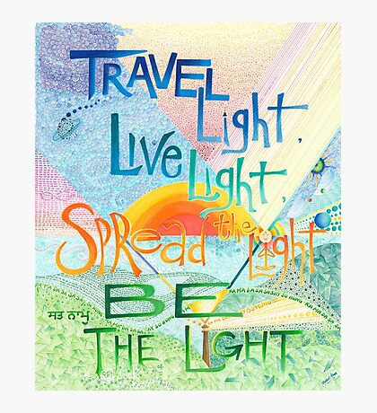 Be The Light Photographic Print