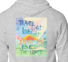 Be The Light Zipped Hoodie