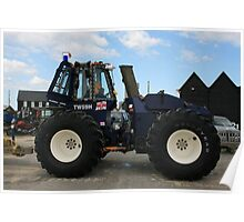 Lifeboat Tractor Poster