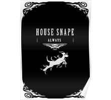 House Snape Poster