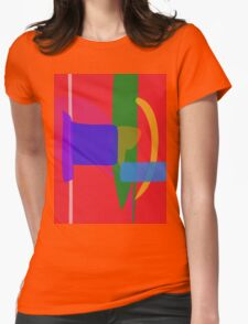 A Nation Womens Fitted T-Shirt