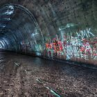 The Tagged Tunnel (alternate) by Aaron Campbell