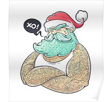 Hipsta Claus Poster