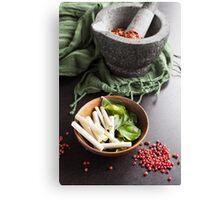 Thai Food Ingredients Canvas Print