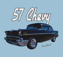 57 Chevy T-Shirt Kids Clothes
