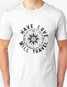 Have Love_black_print Unisex T-Shirt