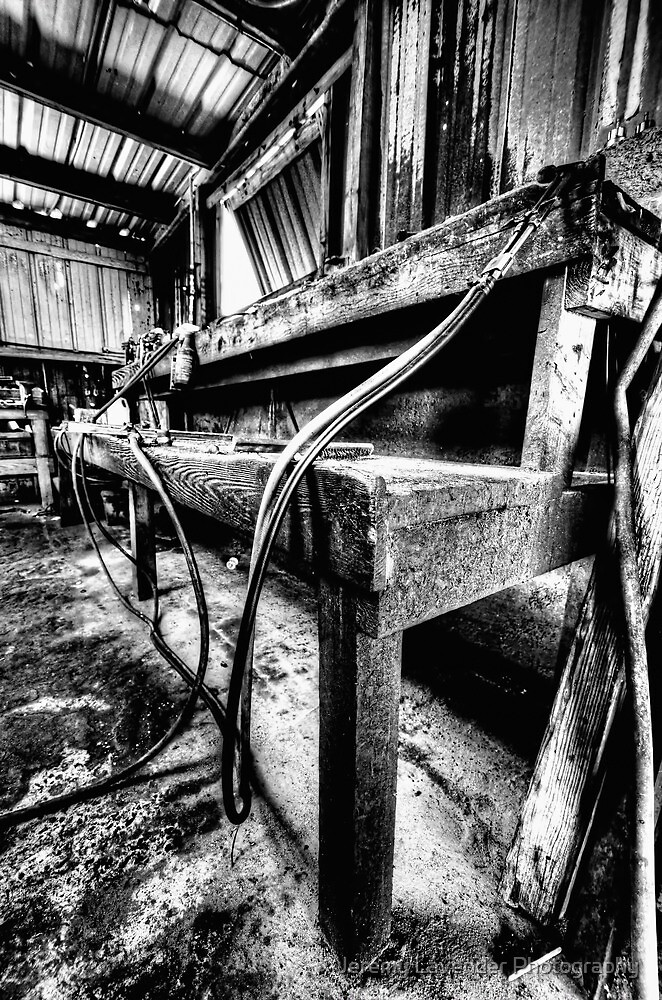 At the welding workshop... by Jeremy Lavender Photography