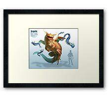 Dragonite Framed Print
