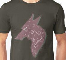 wolf bust 1 Unisex T-Shirt