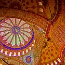 İstanbul - Inside the Blue Mosque by steffen