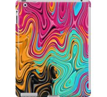 Colorful waves iPad Case/Skin