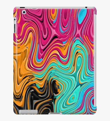 Colorful waves iPad Case/Skin
