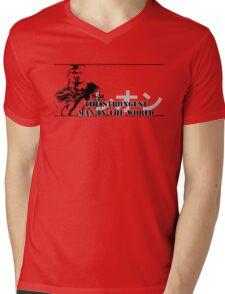 DOA Player Select - Leon Mens V-Neck T-Shirt