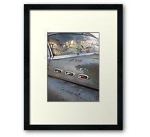 Buick Not So Super 8 Framed Print