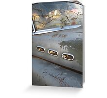 Buick Not So Super 8 Greeting Card