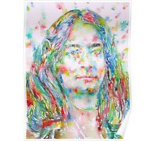 YOGANANDA - watercolor portrait Poster