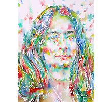YOGANANDA - watercolor portrait Photographic Print