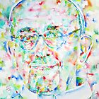 POPE FRANCIS - watercolor portrait by lautir