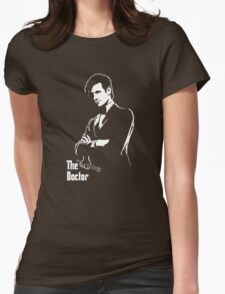 The Docfather Womens Fitted T-Shirt